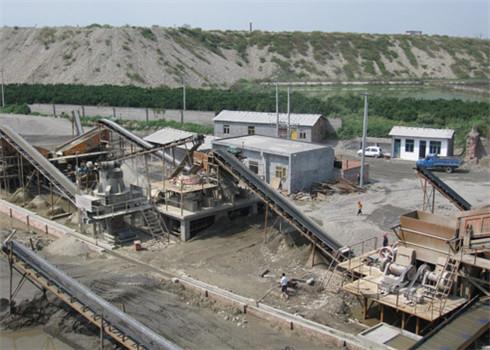 四川达州沙石生产线设备现场
