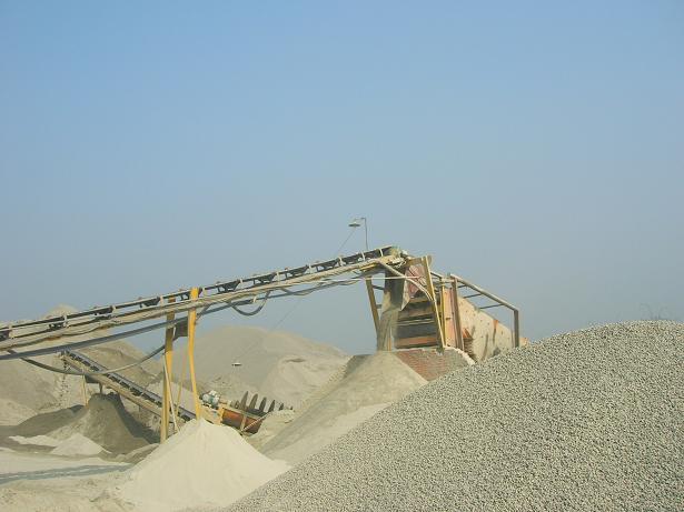 吉林通化沙石线生产现场